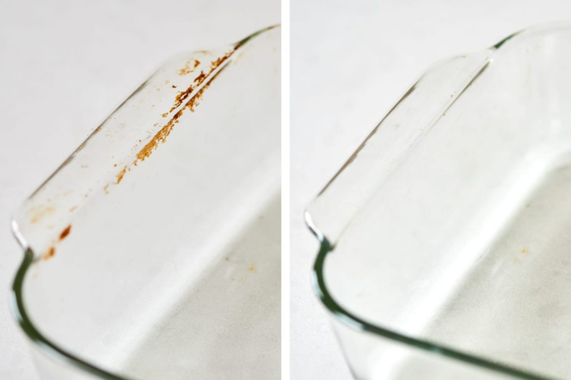 How to (Finally!) Get Rid of the Brown Stains on Your Glass Pyrex Dishes