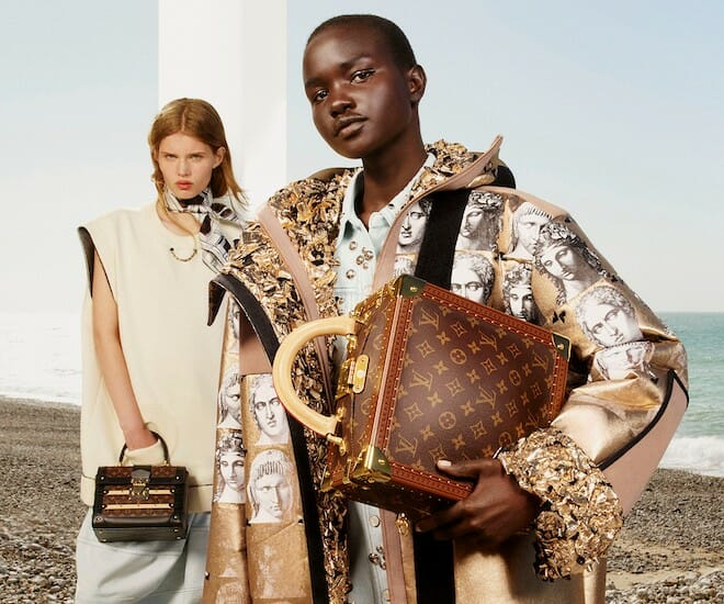 Louis Vuitton Fall/Winter 2021 Goes Back In Time to The Golden Age