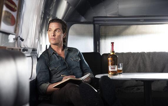 Matthew McConaughey fronts Wild Turkey campaign