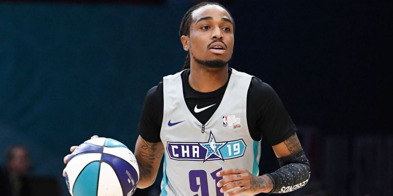 Quavo Flexes Basketball Skills During Pickup Game