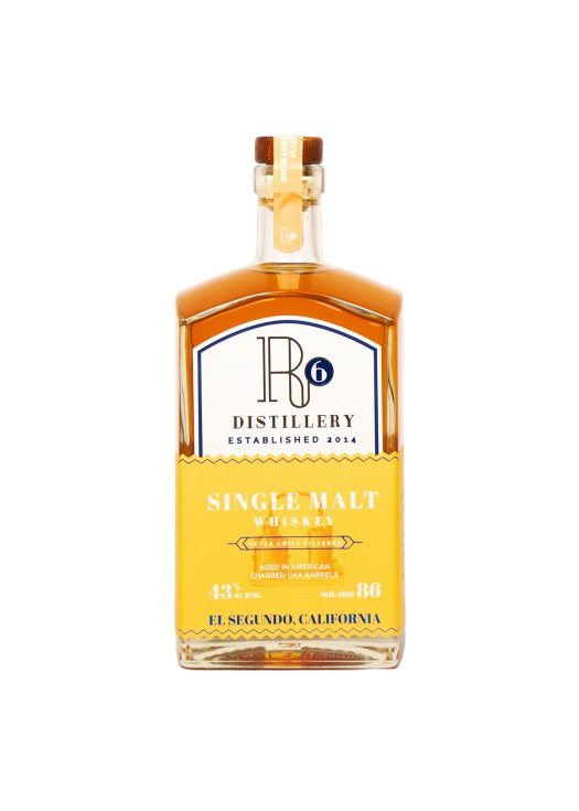 Review: R6 Distillery Single Malt Whiskey