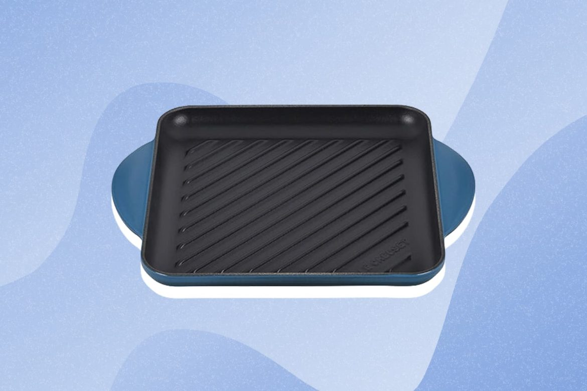 Savor Summer All Year Long with Le Creuset's New Square Grill Pan (Bonus: It's on Sale!)
