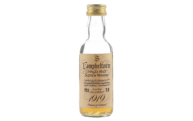 Springbank miniature fetches £6,440 at auction