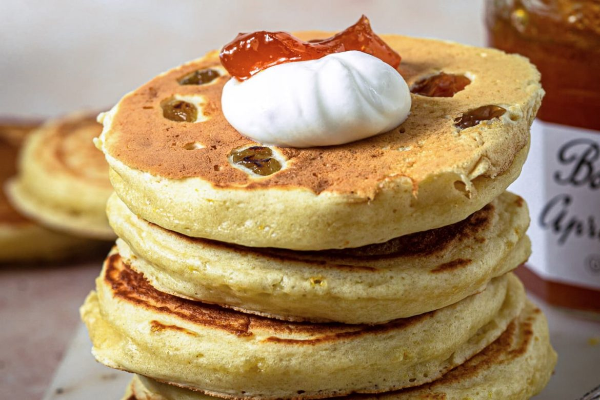 These Lemon Pikelets Will Make You Rethink Your Saturday Pancake Routine