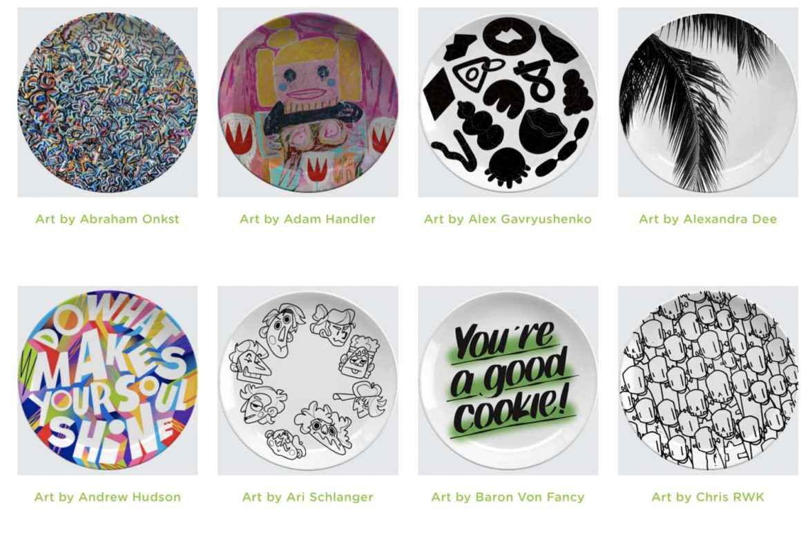 These Limited-Edition Dinner Plates Are Super Cute (and Help to Support a Good Cause)