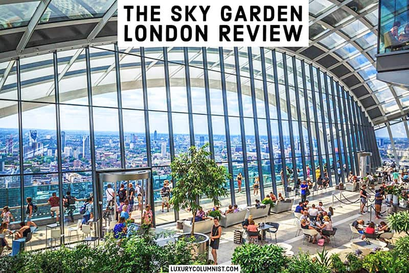 Visiting the Sky Garden London [2021] – Best Free Views of The Capital