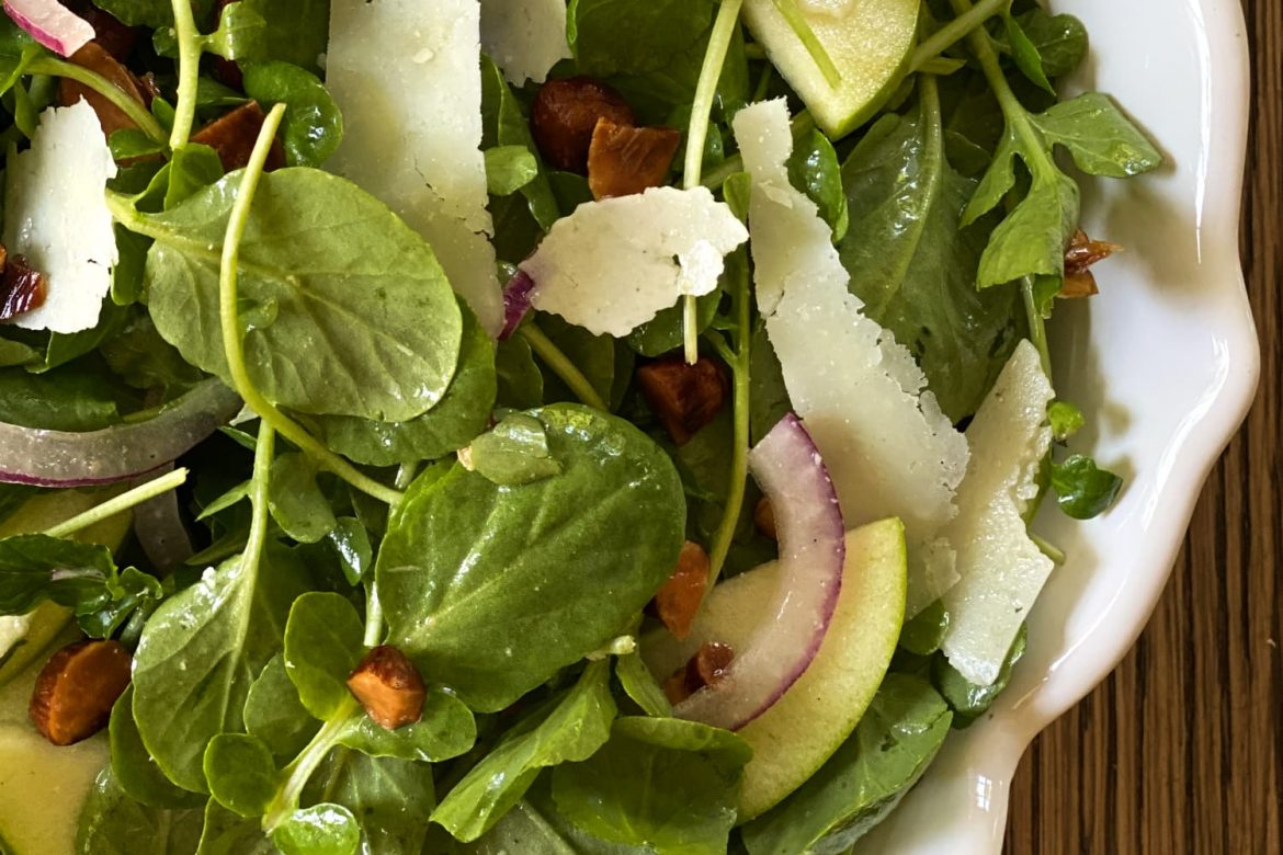 Watercress Salad Is the Simple Side Your Dinner Is Begging For