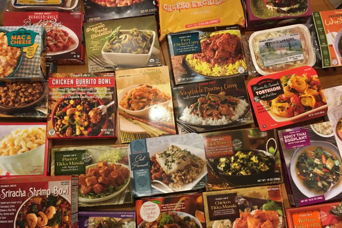 We Tried 30 Different Frozen Dinners at Trader Joe's. These Were Our 5 Favorites.