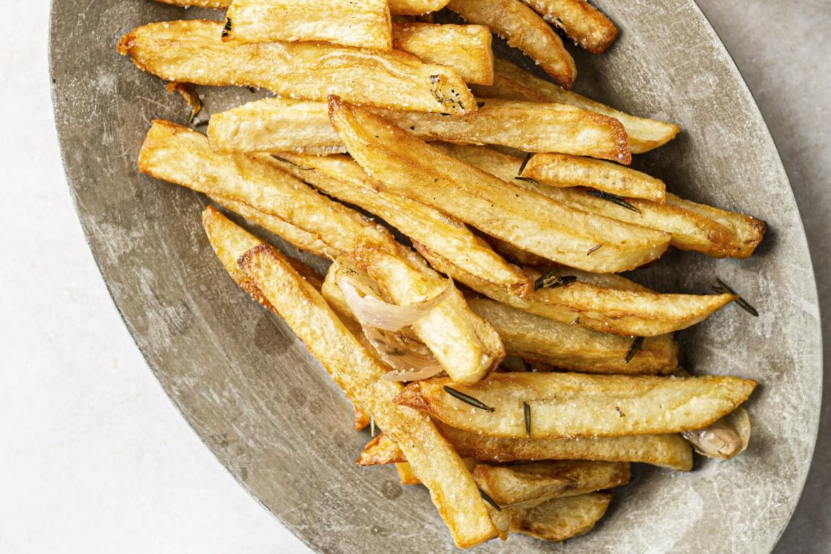 An Easier Way to Make Perfect Pommes Frites at Home