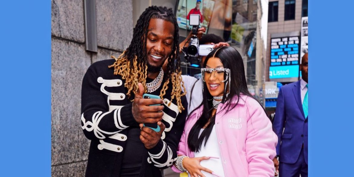 Cardi B And Offset Share Picture With Their Newborn Baby Boy