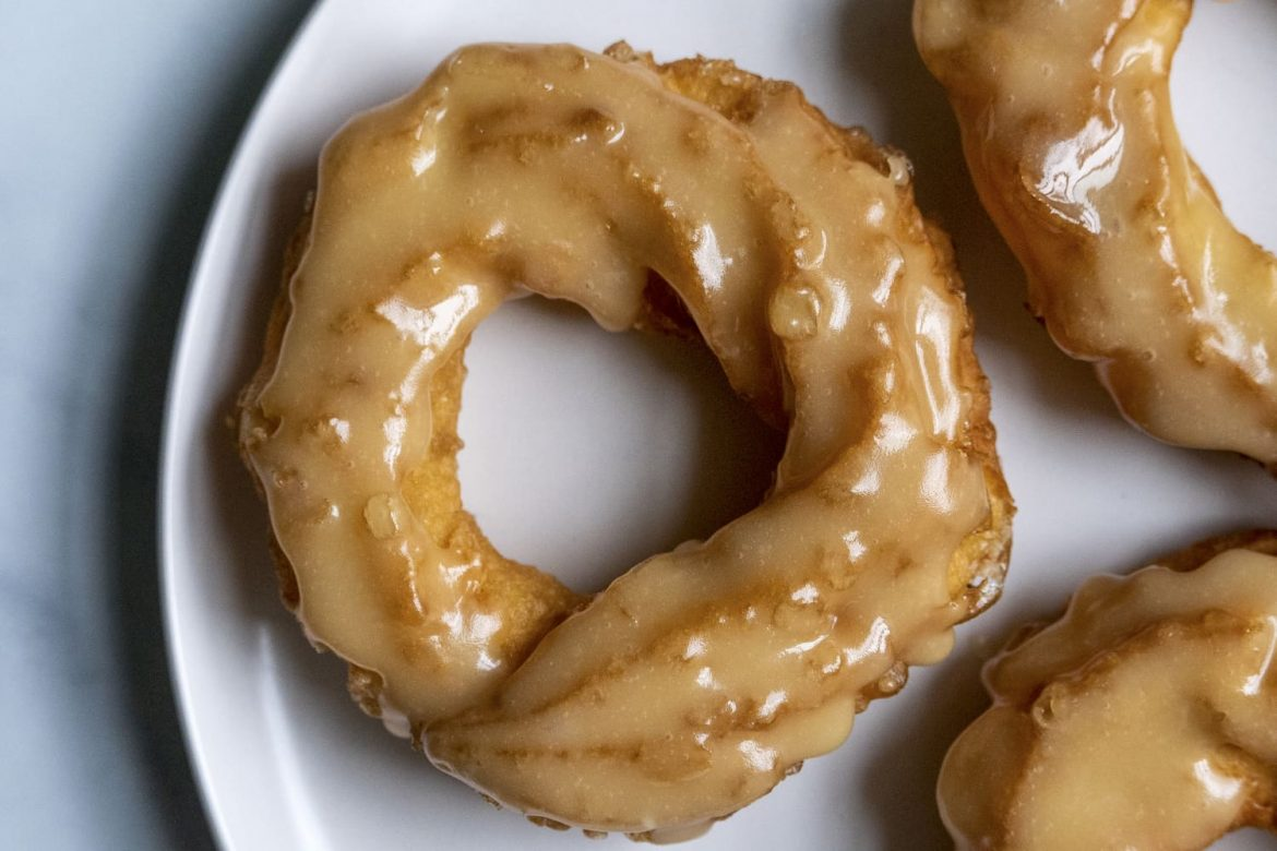 Crullers Are Crispy on the Outside and Custardy on the Inside