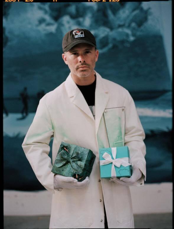Daniel Arsham Transforms Tiffany & Co.'s Iconic Blue Box