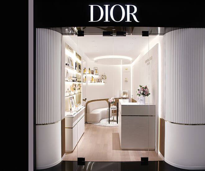 Dior Beauty Launches First Facial Suite in Asia