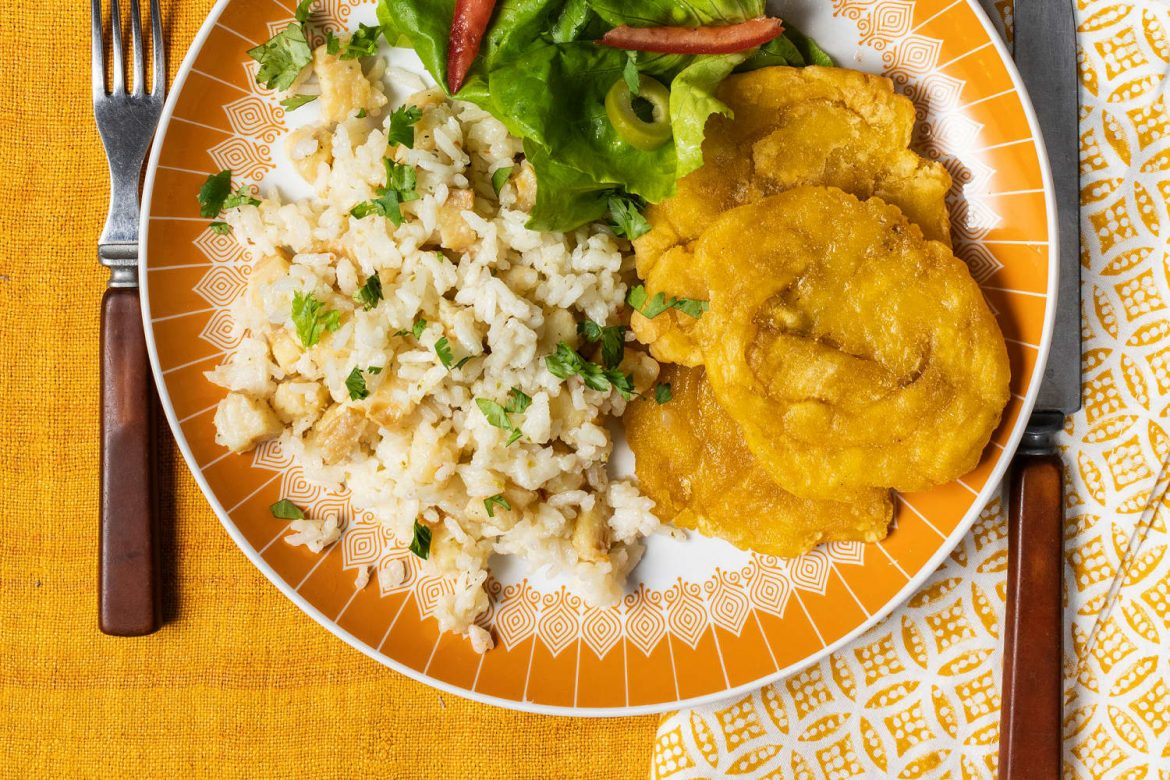 Easy, Comforting Arroz con Bacalao Immediately Transports Me to Puerto Rico