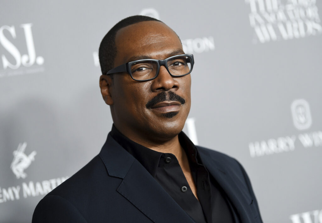 Eddie Murphy signs a three-picture and first-look deal with Amazon Studios