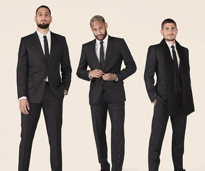 Fashion Forward Footballers: Paris Saint-Germain x Dior