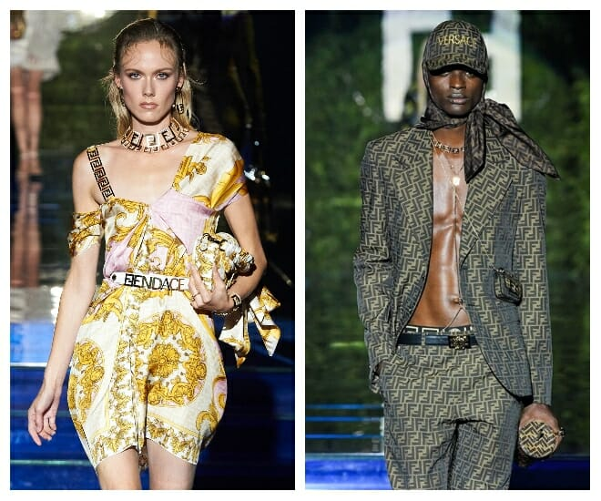 Fendace: A Marriage of Fendi and Versace
