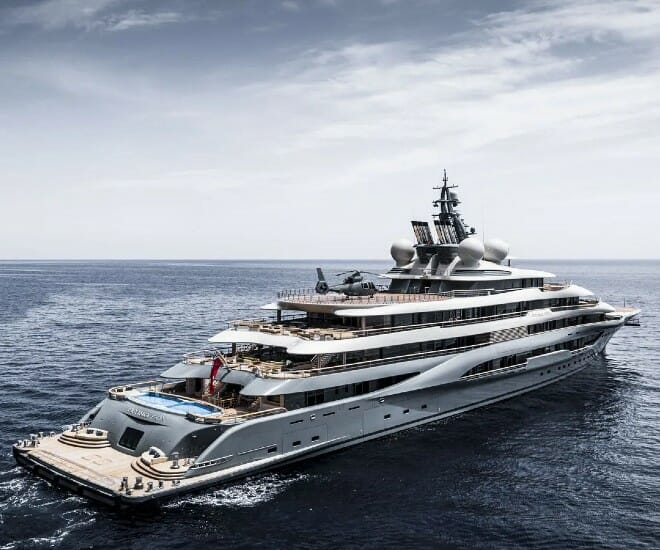 Flying Fox: The World's Largest Charter Superyacht