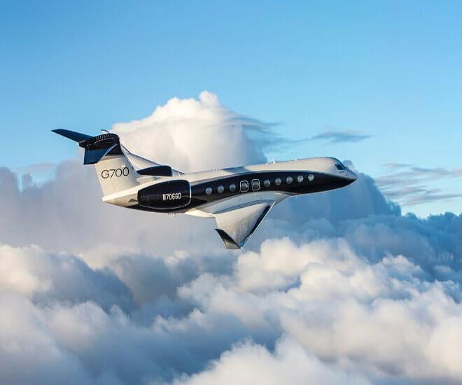 Gulfstream's G700 Sets Two Transatlantic Speed Records