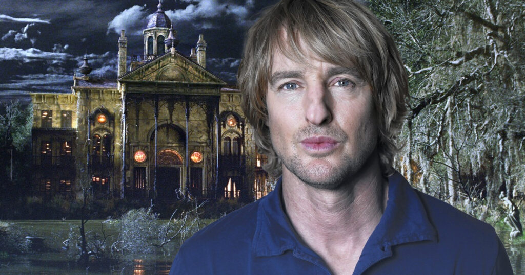 Haunted Mansion reboot welcomes Owen Wilson to the cast
