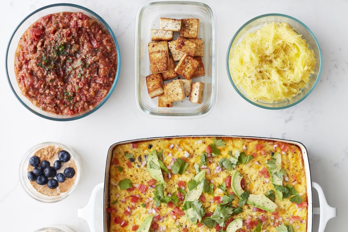 How I Prep a Week of High-Protein Vegetarian Meals in Under 2 Hours