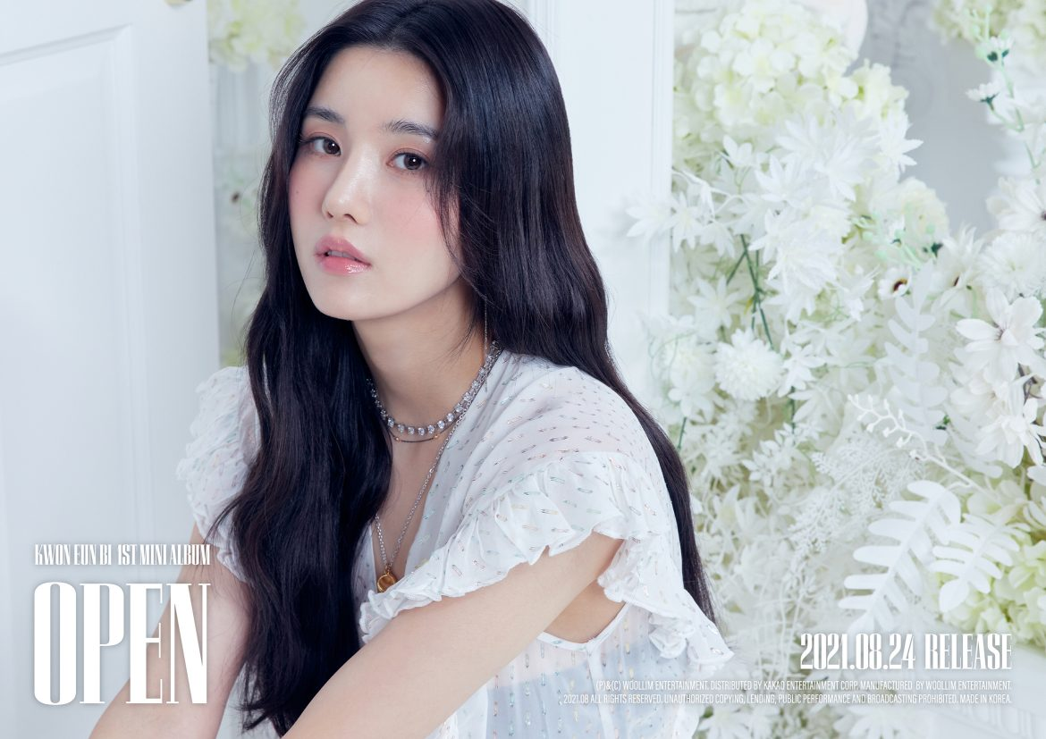 Kwon Eun-bi Shares Her Thoughts on 'OPEN' and Becoming a Soloist