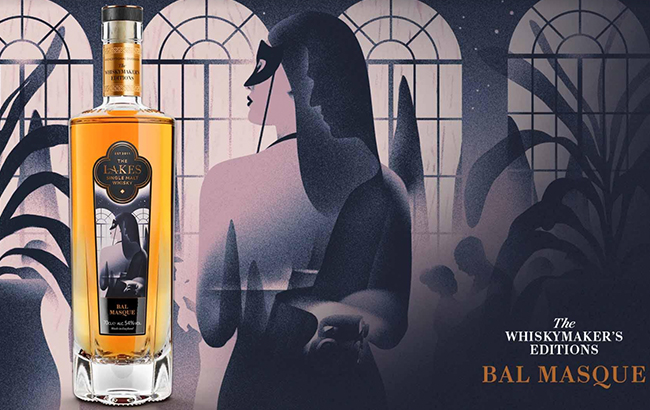 Lakes Distillery launches Bal Masque whisky