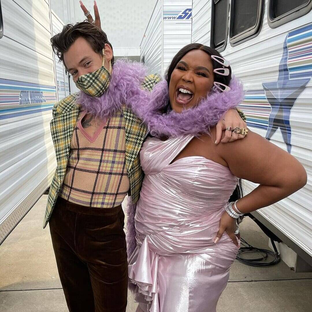 Lizzo Is All Of Us Watching Harry Styles and Florence Pugh's Steamy Don't Worry Darling Trailer