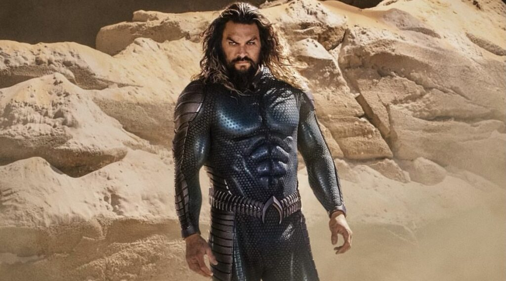 New Aquaman and the Lost Kingdom image reveals Jason Momoa's new suit