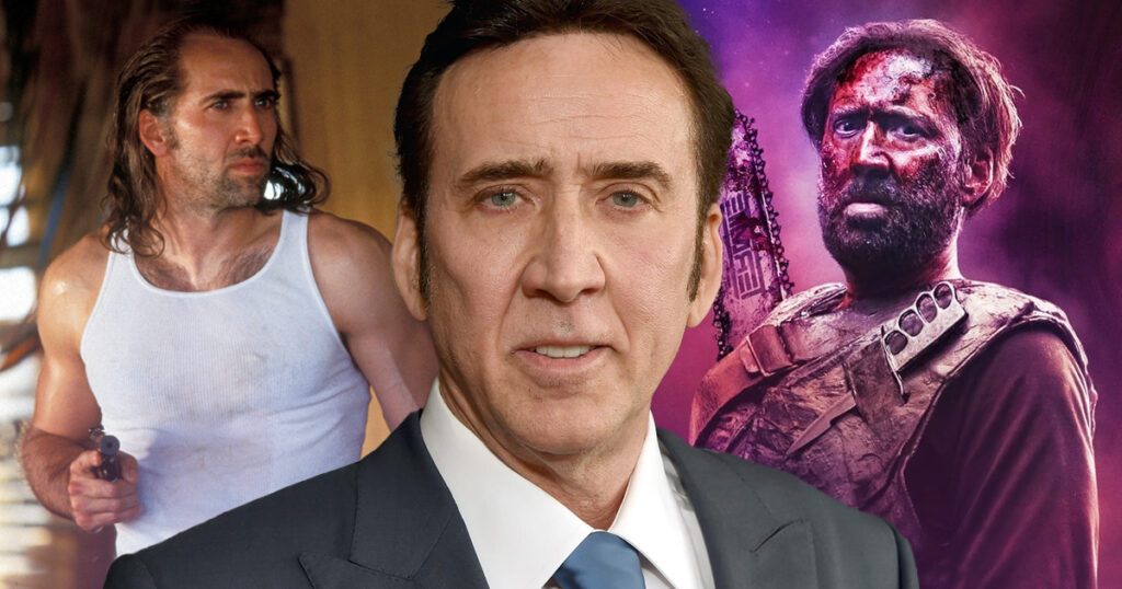 Nicolas Cage never wants to retire and that's just fine with us