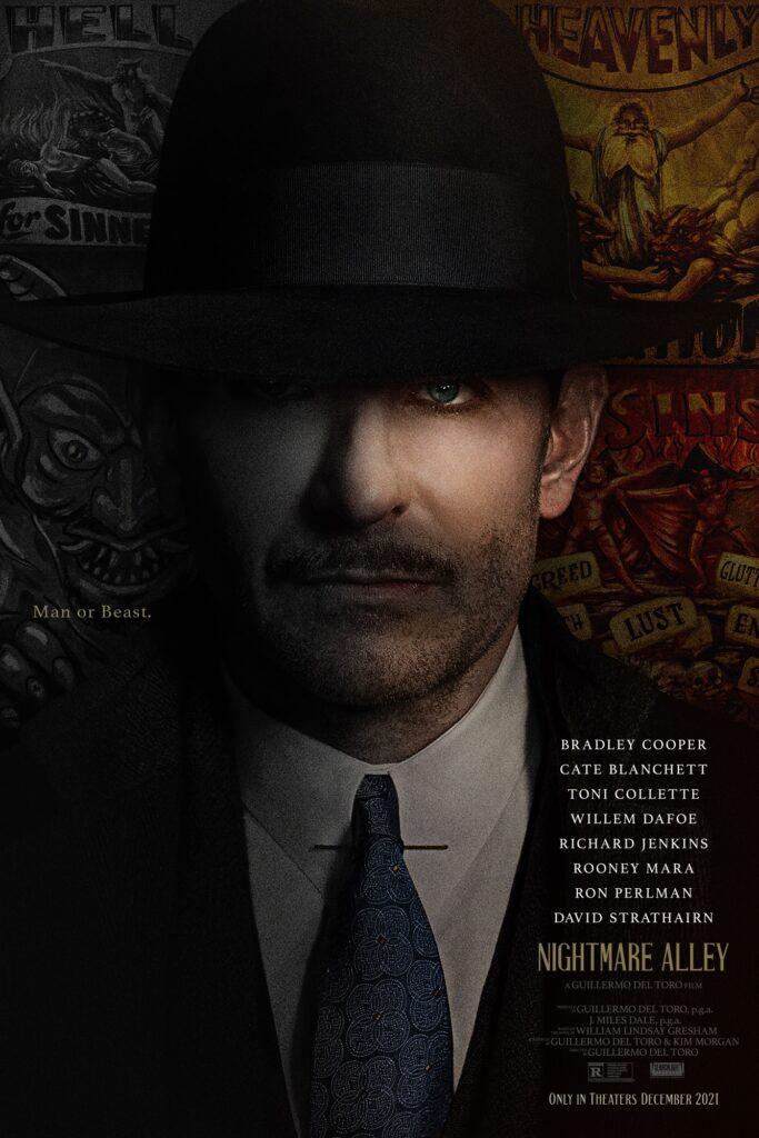 Nightmare Alley trailer gives a disturbing peek into Guillermo del Toro's latest thriller
