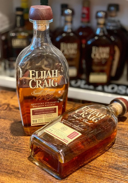Review: Elijah Craig Private Selections – Dry 85 and Love Point Deli