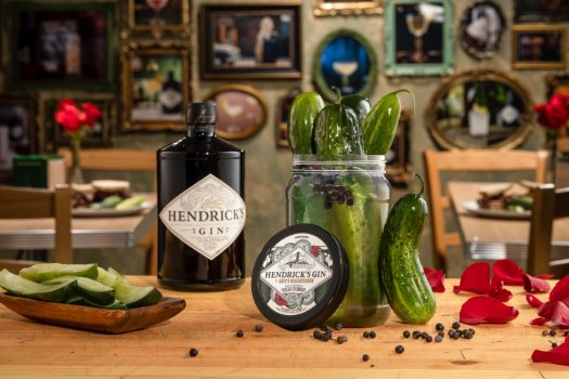 Review: Hendrick's Gin and Katz's Delicatessen Gin-Inspired Pickled Cucumbers