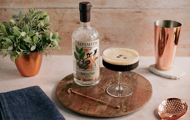 Sipsmith unveils limited edition coffee gin