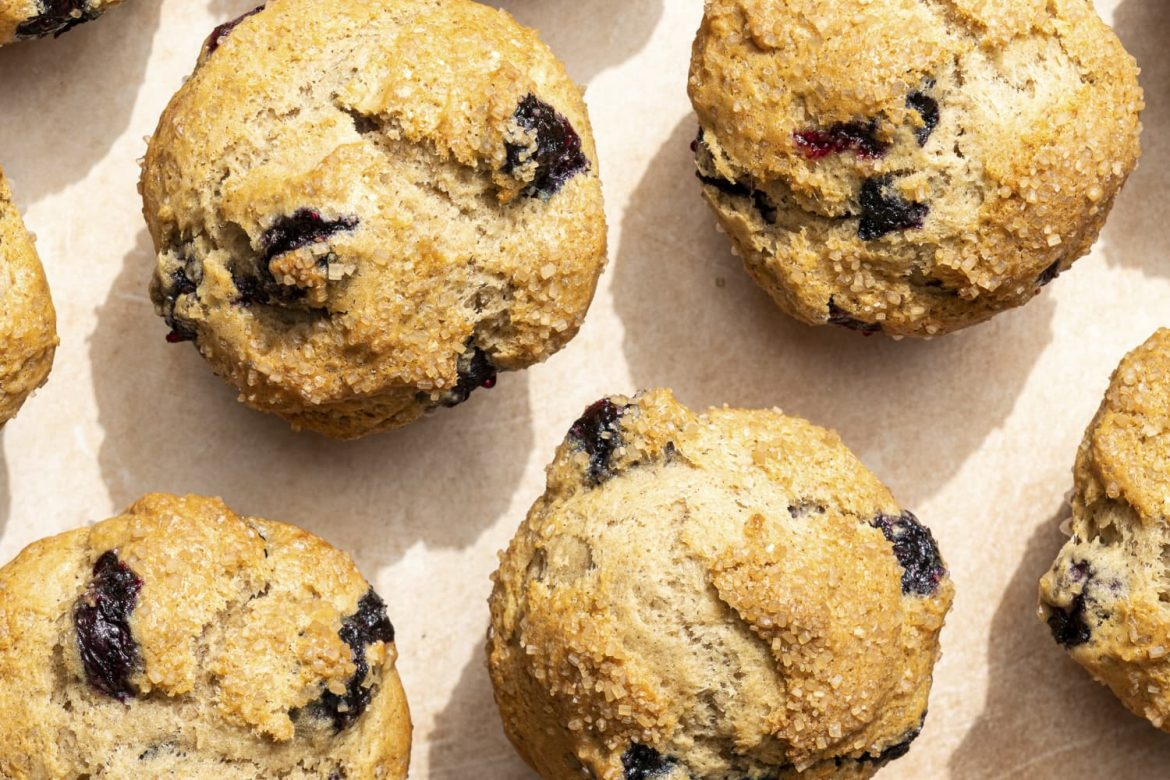 Sourdough Discard Takes Blueberry Muffins to the Next Level
