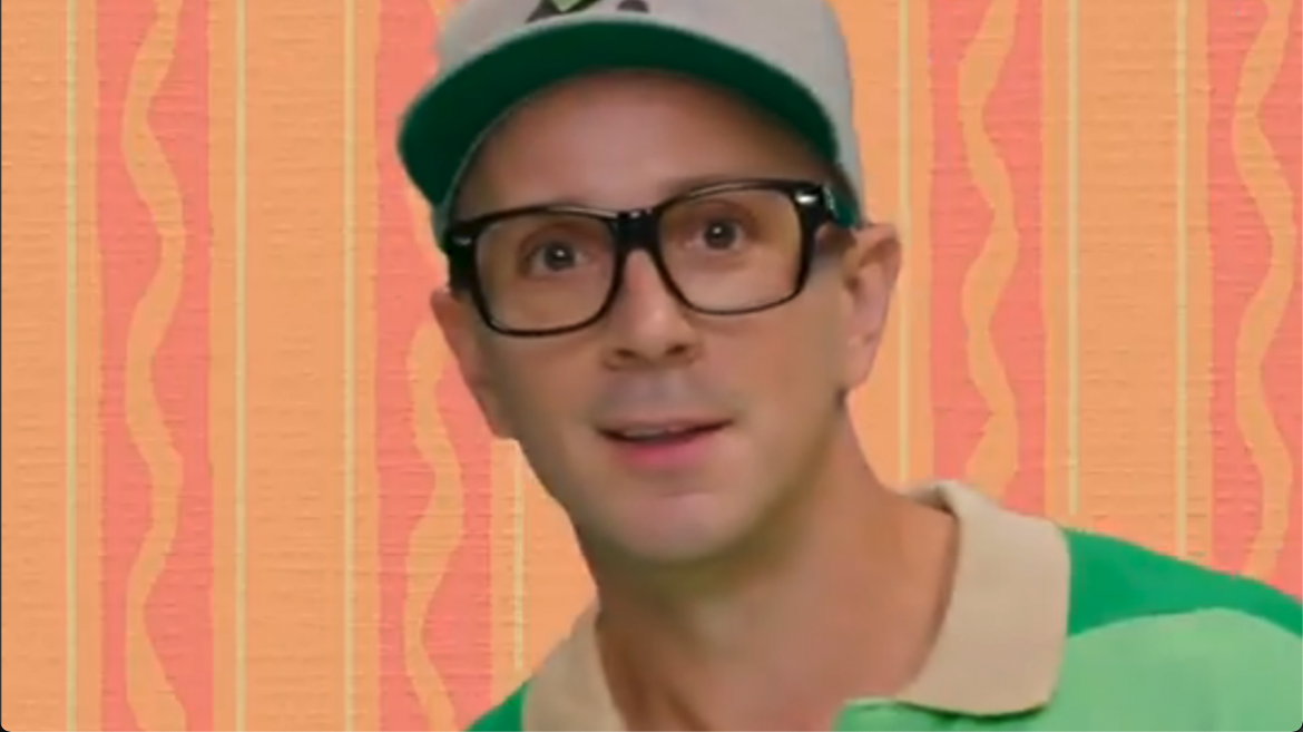 Steve Burns Gives Us a Clue We Didn't Know We Needed