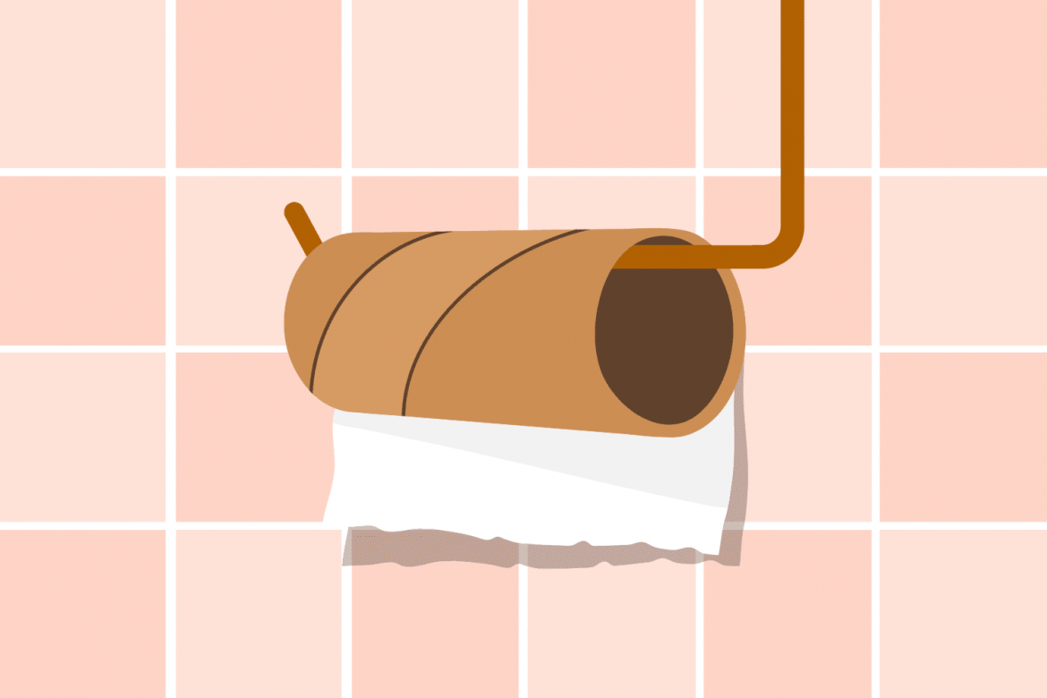 The Last Thing You Should Do with an Empty Toilet Paper Roll