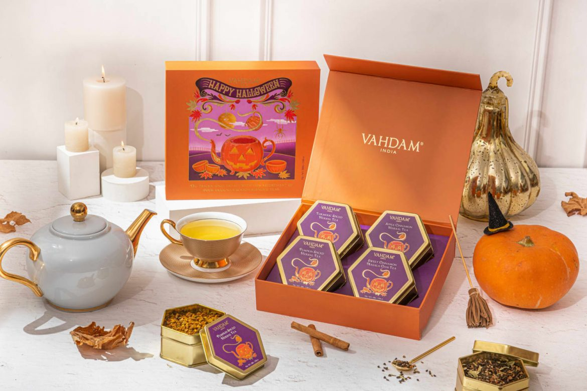 The New Halloween Tea Collection I'll Be Sipping Well Beyond Spooky Season