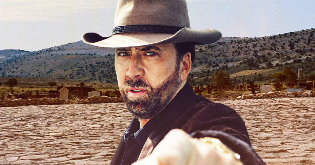 The Old Way: Nicolas Cage to star in his very first Western