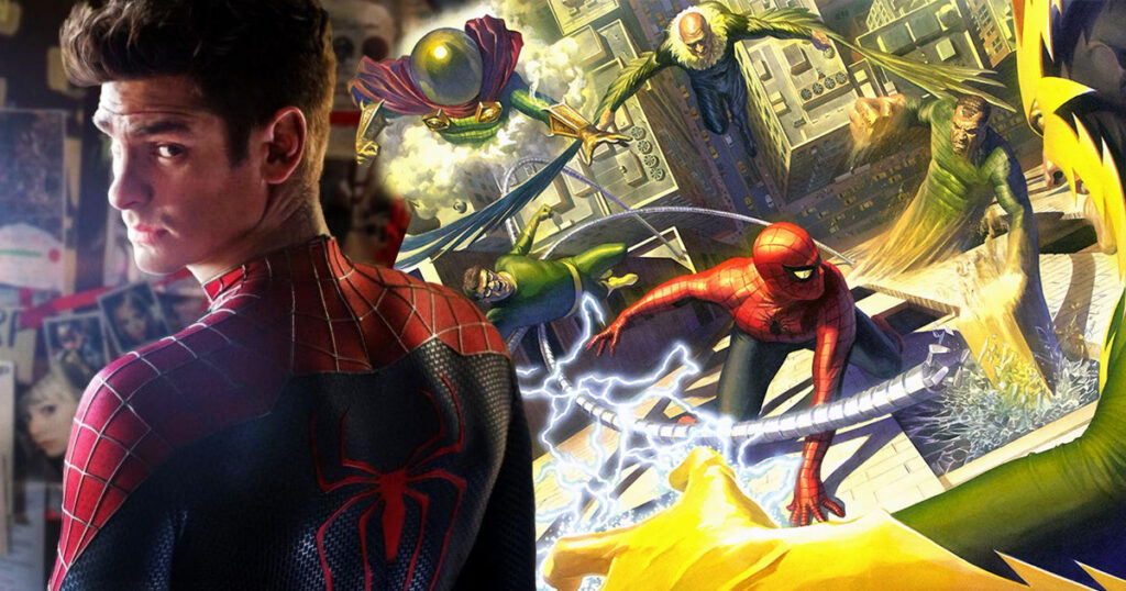 The Sinister Six: Andrew Garfield addresses scrapped Spider-Man spinoff