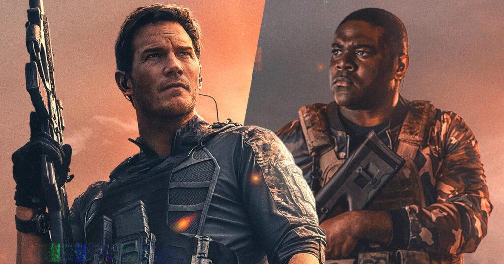 The Tomorrow War's Chris Pratt & Sam Richardson reunite for action-comedy