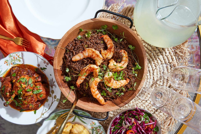 This Umami-Packed Black Trumpet Mushroom Rice Is My Favorite Haitian Dish