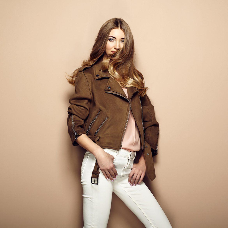 Women's Guide: How to Wear a Tan Leather Biker Jacket