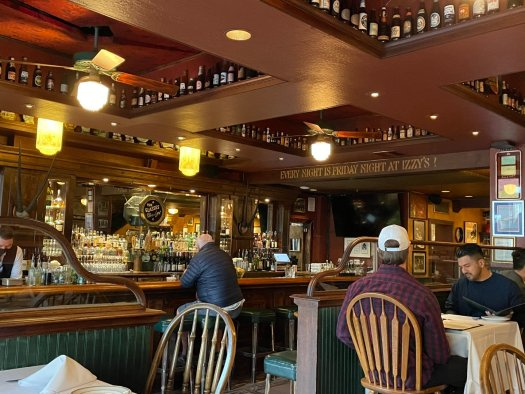 Bar Review: Izzy's Steakhouse, San Francisco