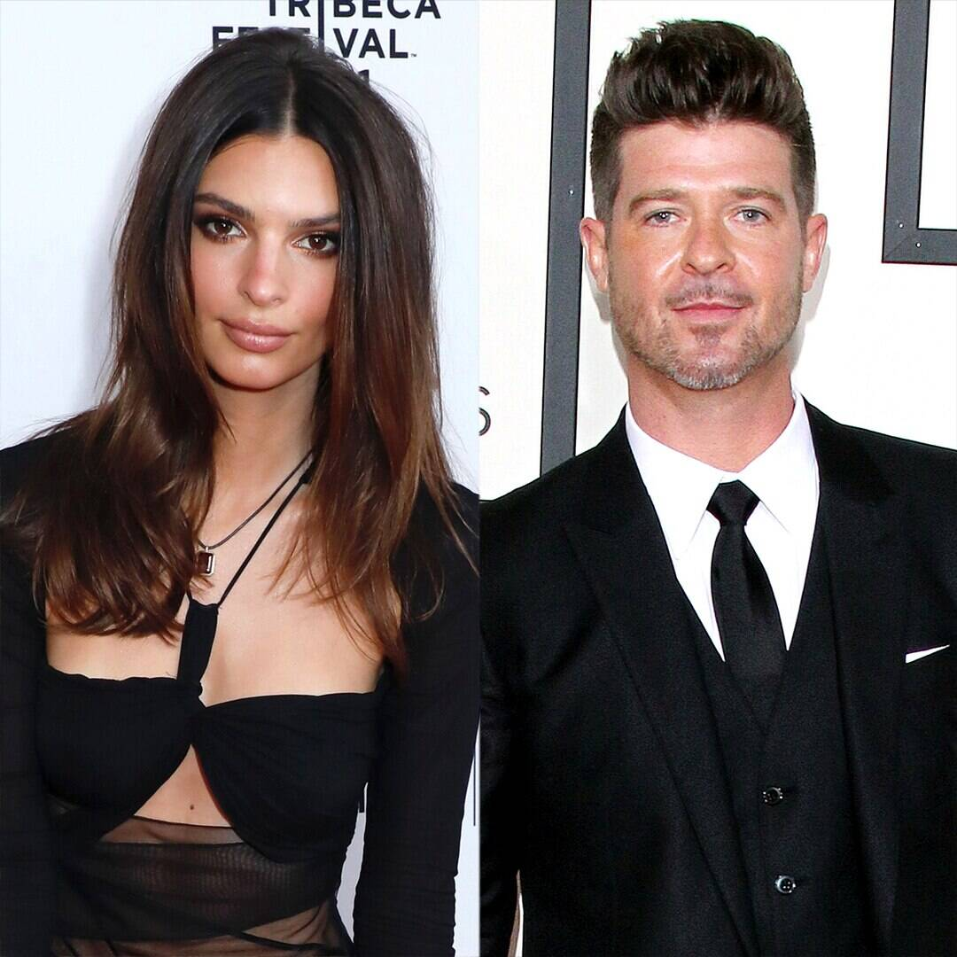 """Emily Ratajkowski Accuses Robin Thicke of Grabbing Her Breasts While Filming """"Blurred Lines"""""""