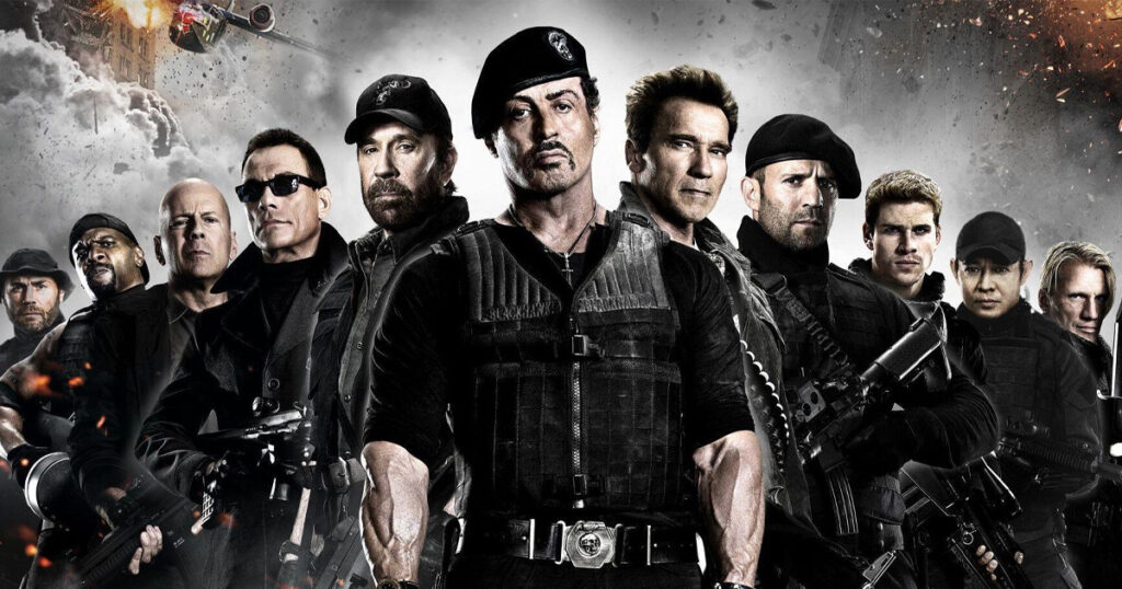 Expendables 4: Sylvester Stallone hosts a BTS bar brawl video