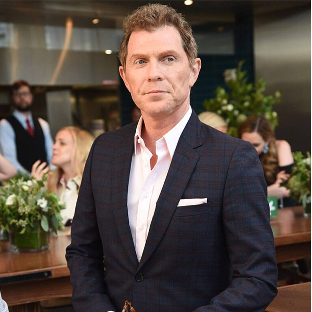 """From Dropping Out of High School to That """"Cheater"""" Sign: 20 Bites From Bobby Flay's Flavorful Life"""