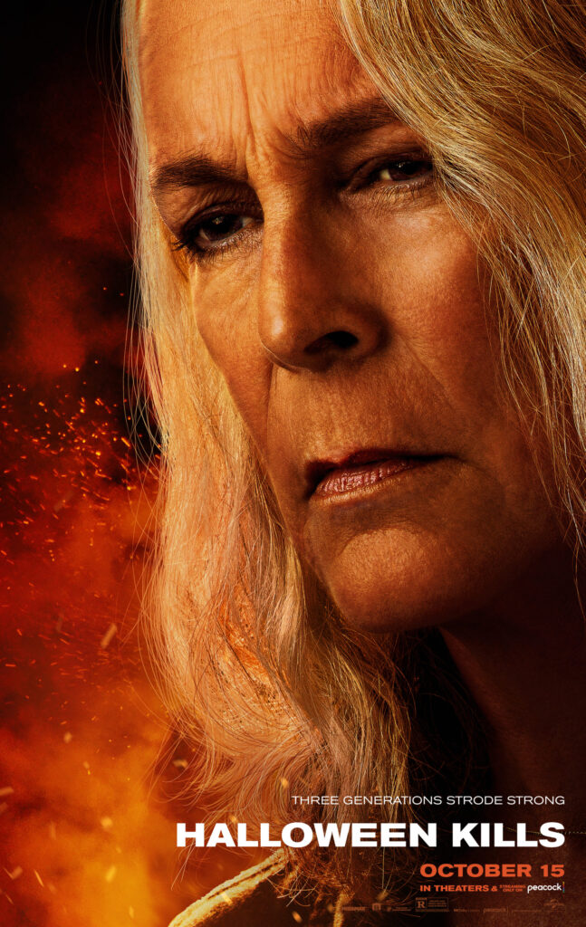 Halloween Kills: new posters focus on three generations of Strode women