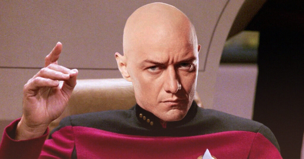 James McAvoy still wants to play young Jean-Luc Picard