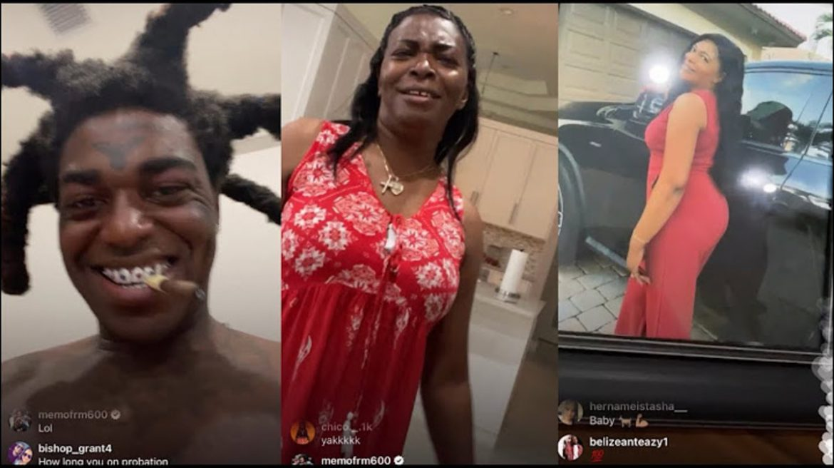 Kodak Black Caught Dancing INAPPROPRIATELY w/ His Own MOTHER!! (SHOCK VIDEO)